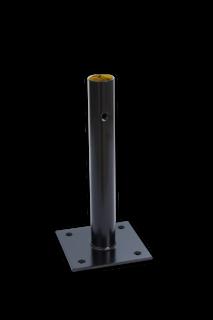 Voetstuk - Modulaire aanrijdbeveiliging aanrijdbeveiliging, aanrijdbescherming, beschermbalk, beschermbeugel, hoekstuk, koppelstuk, voetstuk