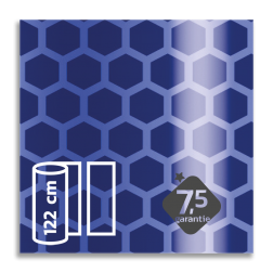 Flexibel reflecterende folie Blauw V-8005 EVG gemetalliseerd reflex, fluoricerend, reflecterend, retroreflex, retroreflecterend, retro, bordfolie, signface