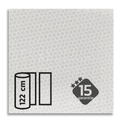 Reflecterende folie Wit klasse 3 T-7500-B reflex, fluoricerend, reflecterend, retroreflex, retroreflecterend, retro, bordfolie, signface