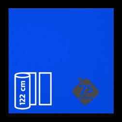 Reflecterende folie Blauw klasse 1 T-1505-B reflex, fluoricerend, reflecterend, retroreflex, retroreflecterend, retro, bordfolie, signface