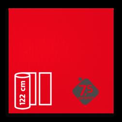 Reflecterende folie Rood klasse 1 T-1508-B reflex, fluoricerend, reflecterend, retroreflex, retroreflecterend, retro, bordfolie, signface