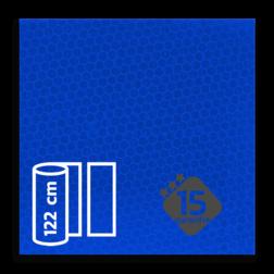 Reflecterende folie Blauw klasse 3 T-7505-B reflex, fluoricerend, reflecterend, retroreflex, retroreflecterend, retro, bordfolie, signface
