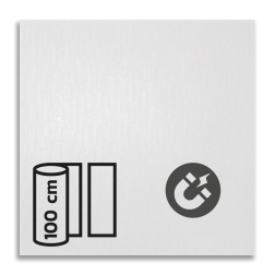 Magneetbord reflecterend klasse 1 T-1500 reflex, fluoricerend, reflecterend, retroreflex, retroreflecterend, retro, bordfolie, signface