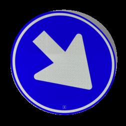 Verkeersbord Gesloten voor - zelf beletteren Verkeersbord signface RVV serie