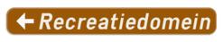 Verkeersbord F35: Bewegwijzeringsbord voor inrichtingen en etablissementen die openbaar zijn of van algemeen belang Bijvoorbeeld: luchthaven, bibliotheek, postkantoor, brandweer en civiele bescherming, cultureel centrum, animatiecentrum, O.C.M.W.), begraafplaats, ziekenhuis, politiediensten, onderwijsinstelling, trein-, tram of busstation, televisieomroep, plaats voor eredienst, museum, gerechtsgebouw, parking, haven, hulppost, taxatiekantoor, schouwburg, bedrijf, industriepark en commercieel centrum. Verkeersbord SB250 F35 - Plaats voor toerisme of ontspanning - links F35