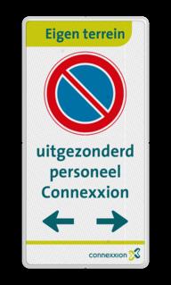Informatiebord - entreebord - in huisstijl - 3 kleuren opdruk parkeren, maximum snelheid, eigen tekst, A1, E4