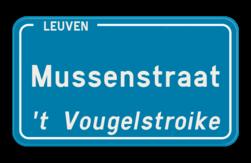 Straatnaambord België 4:2 + Stad/Gemeente met dialect Straatnaambord, België, Belgisch, Belgische, Naambord, Antwerpen, Brussel