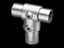 Kort T-stuk - Buiskoppeling verzinkt staal Buiskoppeling, staal, koppeling, T stuk, kort