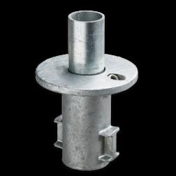 Straatpot - Buiskoppeling verzinkt staal Buiskoppeling, staal, koppeling, straatpot, grondhuls