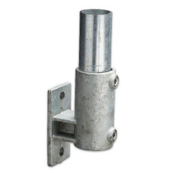 Boeiboordbevestiging verticaal - Buiskoppeling verzinkt staal Buiskoppeling, staal, koppeling, Boeiboordbevestiging, verticaal