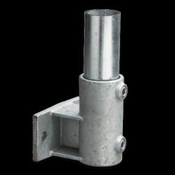 Boeiboordbevestiging horizontaal - Buiskoppeling verzinkt staal Buiskoppeling, staal, koppeling, Boeiboordbevestiging, horizontaal