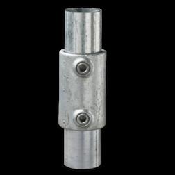 Koppelmof - Buiskoppeling verzinkt staal Buiskoppeling, staal, koppeling, straatpot, grondhuls
