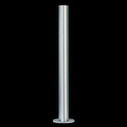 RVS afzetpaal Ø60-102mm - 900mm boven de grond - vast RVS, afzetpaal, roestvast, corrosievast, trottoirpaal, geleidepaal, parkeerpaal