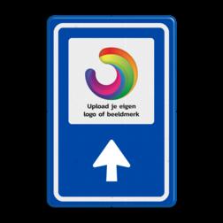 Bewegwijzering LOGO  BW101 + pijlfiguratie BEW101, LOGO, EIGEN PICTO, pictogram