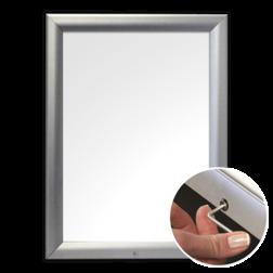 Posterhouder A4 formaat - waterproof met slot posterbord, vitrinebord