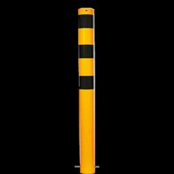 Rampaal Ø76x900mm met grondmontage Rampaal, Afzetpaal, Ramkraak, Magazijn, Inrichting, Juwelier, Bank, Ramzuil, veilig, ram, Menhir, Beveiliging