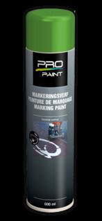 Markeringsverf groen - spuitbus 600 ml wegmarkering, wegenverf, markeringsverf, spuitbus, markeerspray, spray, wit, rood