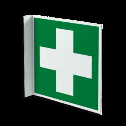 Haaks bord E003 - EHBO middelen EHBO-middelen, Reddingsmiddelen, EHBO-post, post