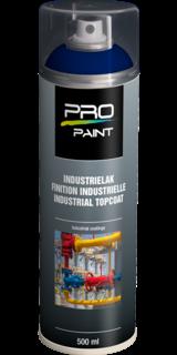Industrielak blauw - 500 ml - hoogglans verfspuitbus, metaallak, industrielak, industriële coating, blauw