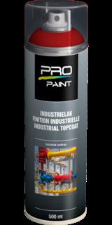 Industrielak rood - 500 ml - hoogglans verfspuitbus, metaallak, industrielak, industriële coating, blauw