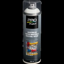 Industrielak wit - 500 ml - mat/hoogglans verfspuitbus, metaallak, industrielak, industriële coating, wit