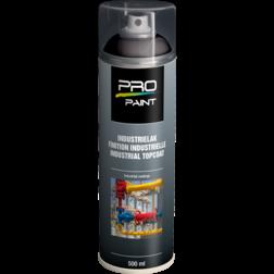 Industrielak zwart - 500 ml - mat/hoogglans verfspuitbus, metaallak, industrielak, industriële coating, wit