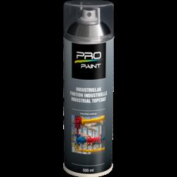 Industrielak transparant - 500 ml - hoogglans verfspuitbus, metaallak, industrielak, industriële coating, transparant