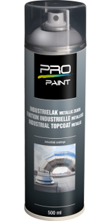 Industrielak metallic - 500 ml - hoogglans verfspuitbus, metaallak, industrielak, industriële coating, metallic