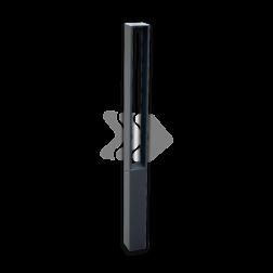 Trottoirpaal - type Almere - antracietgrijs DB703 (fijnstructuur) afzetpaal, trottoirpaal, stoeppaal, straatpaal, geleidepaal