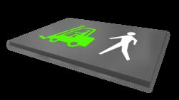 Vloermarkering - symbolen / pictogrammen - wegenverf Wegmarkering, vloermarkering, parkeervak, belijning, parkeerplaats, parkeerterrein, wegenverf, symbolen, pictogrammen