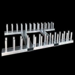 Bordenrek voor verkeersborden met palen 48mm bordenrek