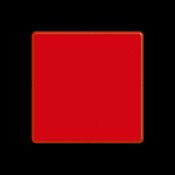 Dagteken enkel rood - het vaarwater is aan die zijde niet vrij water, scheepvaart, A5, verboden aan te leggen, verboden ligplaats te nemen (ankeren en afmeren) BPR, verbodstekens, verbodsborden, waterweg, waterwegen, scheepvaarttekens, verkeerstekens, BPR, spudpalen
