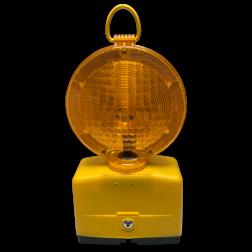 Werflamp Nitra ⌀190mm oranje lamp, heklamp, obstakellamp