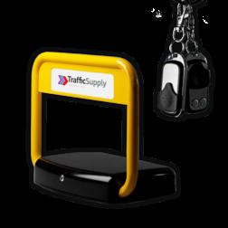 Parkeerbeugel automatisch met zonnepaneel - TS-Solar automatische, automatic, parkeerbeugel, elektrische, solar, zonnepaneel