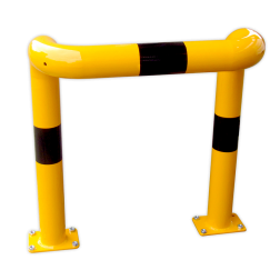 Beschermbeugel Ø76mm kort - 1000 x 450mm (bxd) Aanrijdbeveiliging, Aanrijdbeugel, Beugel, Aanrijding, Beveiliging, Ram, Rambeugel, Aanrijdbescherming, Vangrail