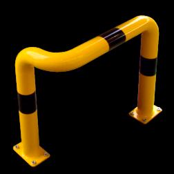 Beschermbeugel Ø76mm - Enkele hoek Aanrijdbeveiliging, Aanrijdbeugel, Beugel, Aanrijding, Beveiliging, Ram, Rambeugel, Aanrijdbescherming, Vangrail