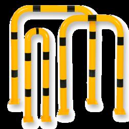 Beschermbeugel Ø76mm, Verende uitvoering Aanrijdbeveiliging, Aanrijdbeugel, Beugel, Aanrijding, Beveiliging, Ram, Rambeugel, Aanrijdbescherming, Vangrail