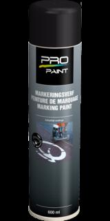 Markeringsverf zwart - spuitbus 600 ml wegmarkering, wegenverf, markeringsverf, spuitbus, markeerspray, spray, oranje