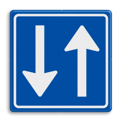 Verkeersbord Inrijden toegestaan Verkeersbord RVV C05 - Inrijden toegestaan C05