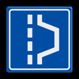 Verkeersbord Vluchthaven Verkeersbord RVV L14 - Vluchthaven L14