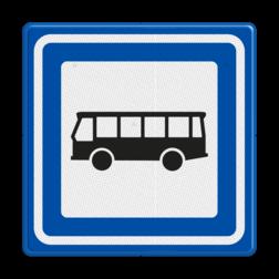 Verkeersbord Bushalte Verkeersbord RVV L03b - Bushalte L03b