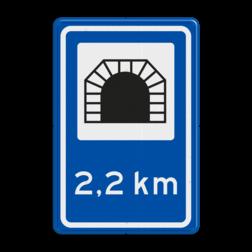 Verkeersbord Verkeerstunnel Verkeersbord RVV L13 - Verkeerstunnel L13