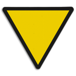 Snelheidsverminderingsbord Snelheid zodanig begrenzen om vóór de aangegeven overweg(en) te kunnen stoppen. Snelheidsverminderingsbord - RS 226a - 1 getal - Reflecterend SH RS 226a