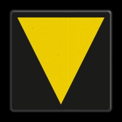Bord Bord t.b.v. middenvoetbrugsein Bord t.b.v. middenvoetbrugsein - RS 215b/223 - 200x200mm - Reflecterend RS 215b/223