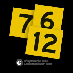 Magnetisch cijferbord RS 325b vlak