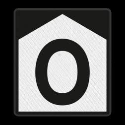 Opdrachtbord De opdracht vermeld op het onderbord uitvoeren alvorens het bord voorbij te rijden. Dit bord wordt onder meer toegepast op locaties waarover wegverkeer plaatsvindt en de machinist een overweg moet bedienen. Opdrachtbord - RS 375 - 650x720mm - Reflecterend ST RS 375