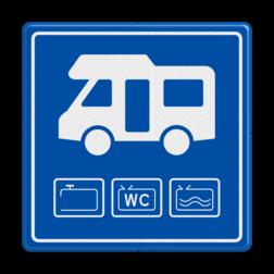 Verkeersbord Loosplaats voor campers Verkeersbord Loosplaats voor Campers loosplaats, losplaats, campers, campervan