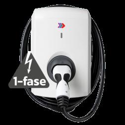 Alfen Single S-Line - 3,7 of 7,4kW (1-fase) - met vaste kabel Laadstation, oplaadpaal, laadpaal, Alfen, ICU, Singel, S-line, oplader, elektrische auto, thuis, aan huis, laadpunt, oplaadpunt, laadsessie, registreren, registratie, autolaadpunt, laadpasje, RFID, type 1, type 2, back, office, laadstation, load, balancing, plug, charge