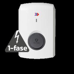 Alfen Single S-Line - 3,7 of 7,4kW (1-fase) - met socket Laadstation, oplaadpaal, laadpaal, Alfen, ICU, Singel, S-line, oplader, elektrische auto, thuis, aan huis, laadpunt, oplaadpunt, laadsessie, registreren, registratie, autolaadpunt, laadpasje, RFID, type 1, type 2, back, office, laadstation, load, balancing, plug, charge, socket