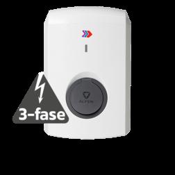 Alfen Single S-Line - 11kW (3-fasen) - met socket Laadstation, oplaadpaal, laadpaal, Alfen, ICU, Single, S-line, oplader, elektrische auto, thuis, aan huis, laadpunt, oplaadpunt, laadsessie, registreren, registratie, autolaadpunt, laadpasje, RFID, type 1, type 2, back, office, laadstation, load, balancing, plug, charge, socket